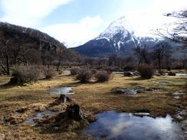 Vue sur les montagnes du Parc National Tierra del Fuego 3