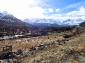 Vue sur les montagnes du Parc National Tierra del Fuego 1