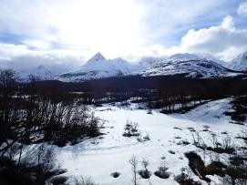 Vue sur les montagnes du Parc National Tierra del Fuego 2