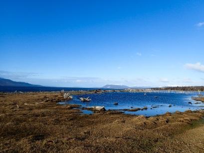 Paysagr de marécage au bord du Lac Fagnano