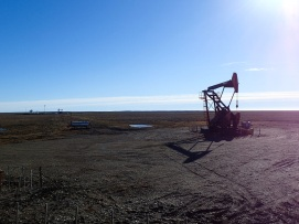 L'exploitation du pétrôle en Terre de Feu.