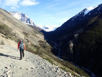 Le tourisme, attiré par les espaces naturels comme ici à Torres del Paine, est une source d'activité considérable.
