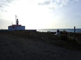 Le phare du côté Sud du Détroit de Magellan.