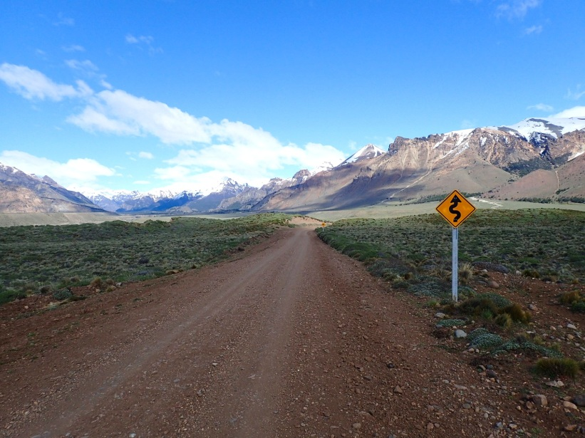 Route traversant le projet de parc national Patagonia
