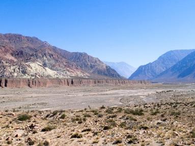 Les gorges du Rio Mendoza