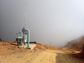 Passage à 3 600 m d'altitude à proximité de la mine Rio Blanco
