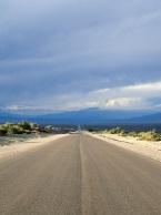 Un goût d'infini sur la route qui traverse la zone désertique entre San Juan et La Rioja