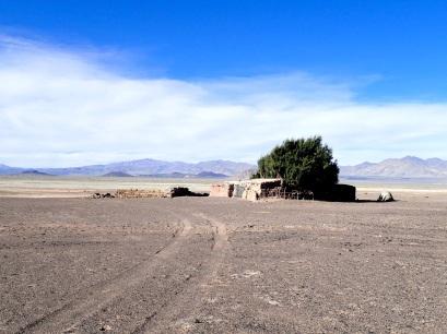Maison abandonnée aux abords du volcan Carachi Pampa
