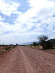 Partie désertique dans l'entre-deux provinces