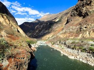 Le Canyon Apurimac que la plupart des visiteurs traversent en aller-retour pour accéder à Choquequirao, et qui constituait pour moi la dernière partie de ce parcours