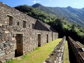 Les greniers immenses (qolqas) où étaient conservées les récoltes