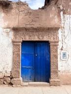 L'un des portails monumentaux de Maras, véritable oeuvre d'art