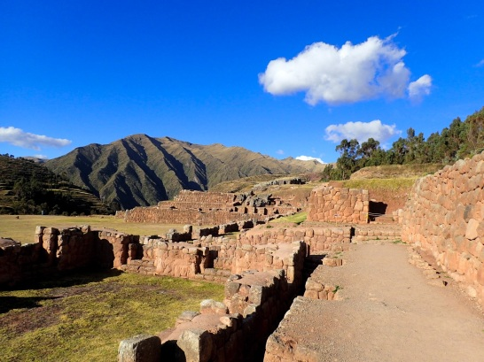 Les ruines du palais de Chinchero