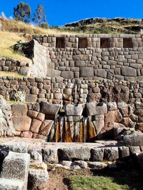 La fontaine sacrée de Tambomachay