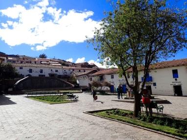 On trouve à San Blas le quartier bohème de la ville