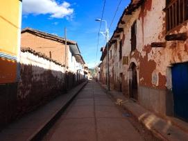 En suivant la route j'ai découvert de nombreux petits villages sur mon chemin