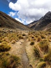Descente dans la vallée Alpamayao