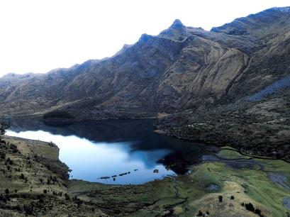 Descente vers le lac Wicrococha